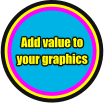Add value to your graphics